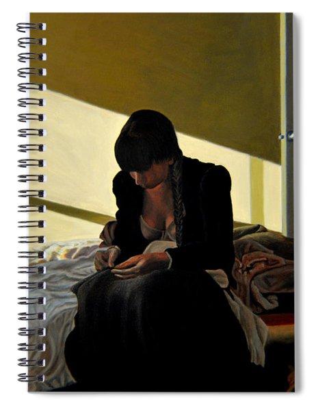 Mending Spiral Notebook