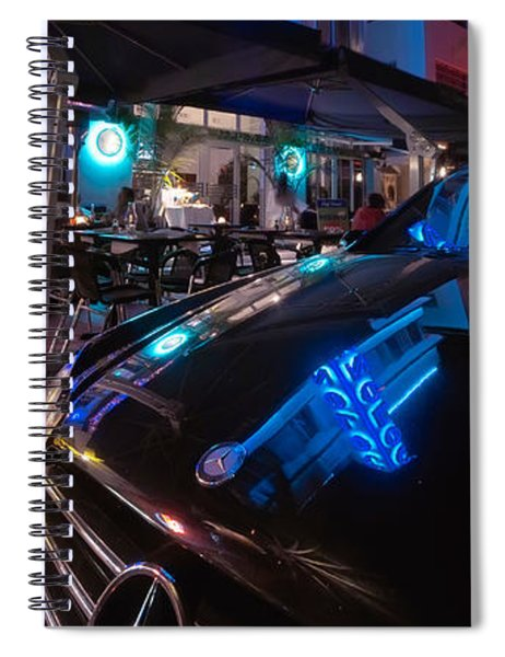 Mercedes At The Colony Spiral Notebook