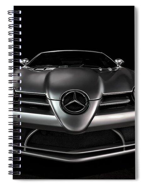 Mercedes Mclaren Slr Spiral Notebook