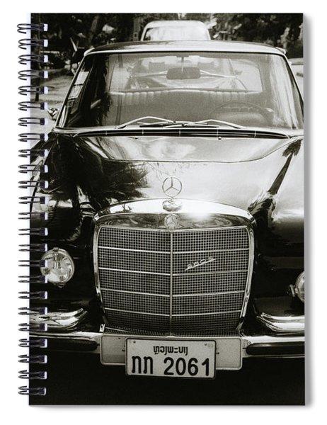 Mercedez Benz Spiral Notebook