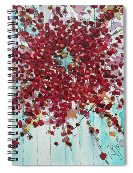 Merry And Bright Spiral Notebook