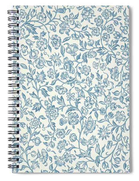 Merton Wallpaper Design Spiral Notebook
