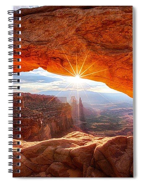 Mesa's Sunrise Spiral Notebook