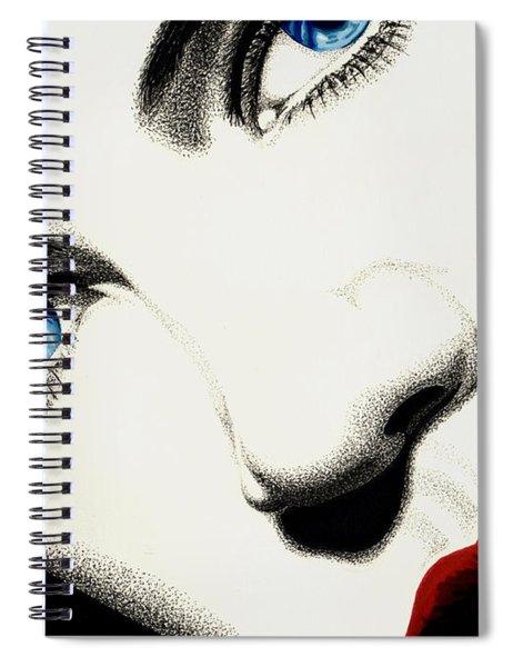 Mesmerizing Stare Spiral Notebook