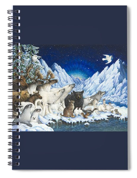 Message Of Peace Spiral Notebook