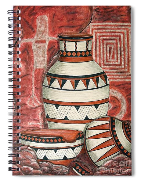 Messages Spiral Notebook