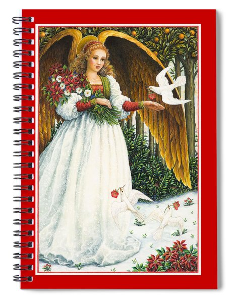 Messengers Of Peace Spiral Notebook