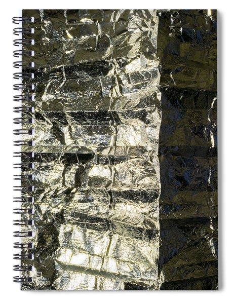 Metallic Reflection Spiral Notebook