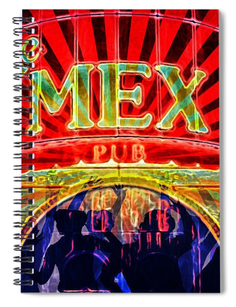 Mex Party Spiral Notebook