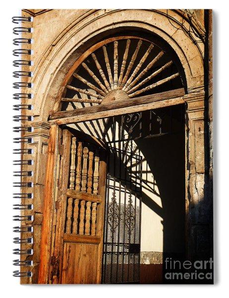 Mexican Door 27 Spiral Notebook