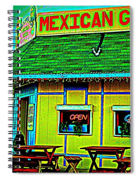 Mexican Grill Spiral Notebook