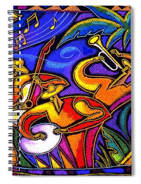 Latin Music Spiral Notebook