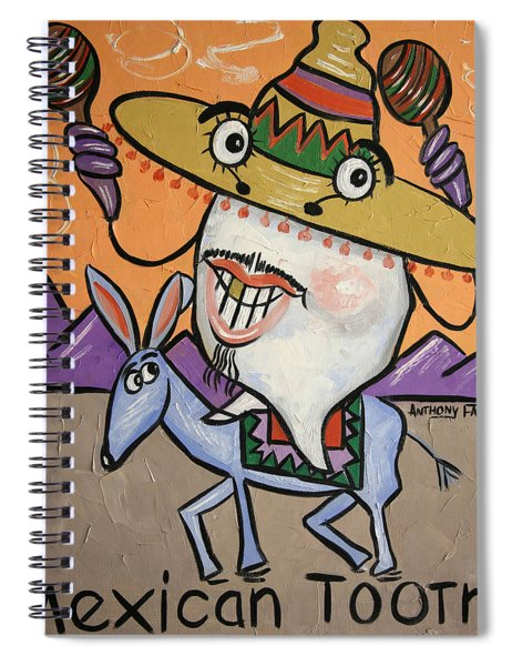Mexican Tooth Spiral Notebook