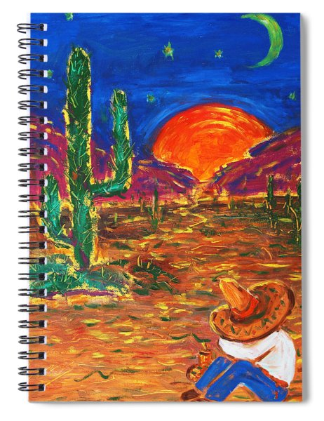 Mexico Impression IIi Spiral Notebook