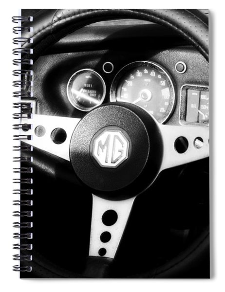 Mg Dashboard Spiral Notebook