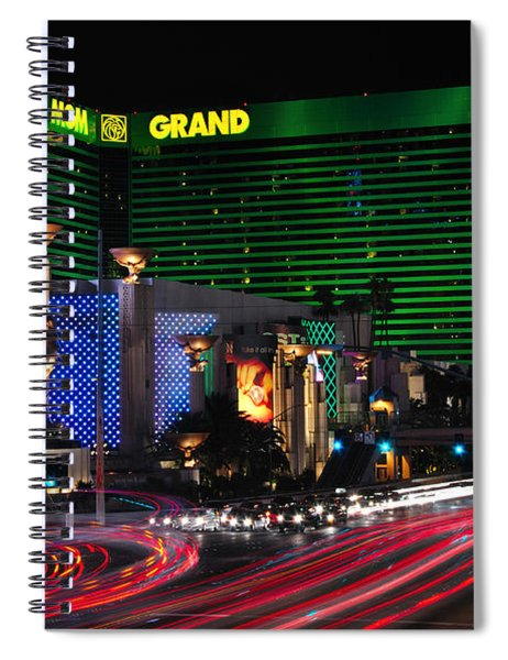 Mgm Grand Hotel And Casino Spiral Notebook