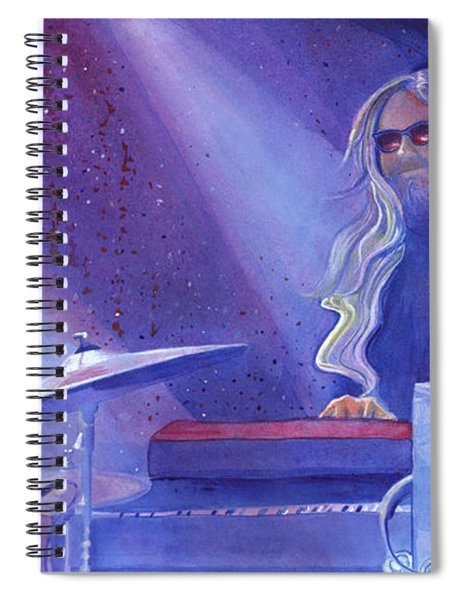 Miah At The Goat Keystone Colorado Spiral Notebook
