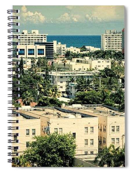 Miami Beach-0156 Spiral Notebook