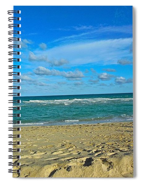 Miami Beach Spiral Notebook