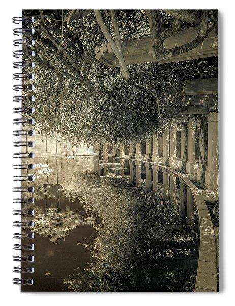 Miami Beach Lake 2 Spiral Notebook