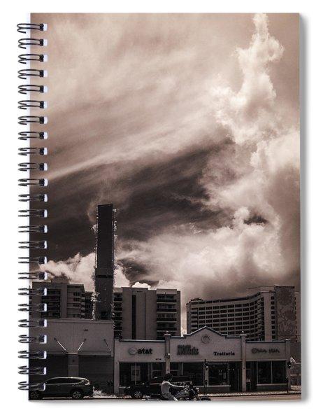 Miami Beach Sky Spiral Notebook
