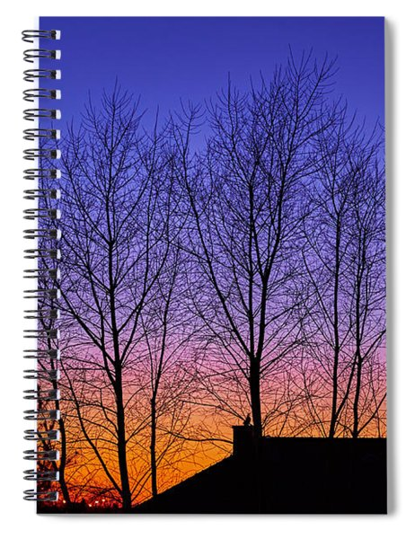 Miami Sky Spiral Notebook