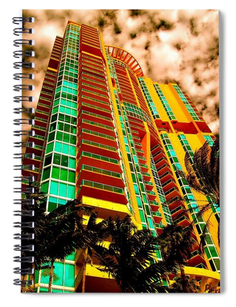 Miami South Pointe II Highrise Spiral Notebook