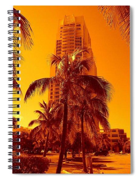 Miami South Pointe Iv Spiral Notebook