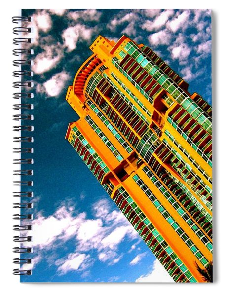 Miami South Pointe Highrise Spiral Notebook