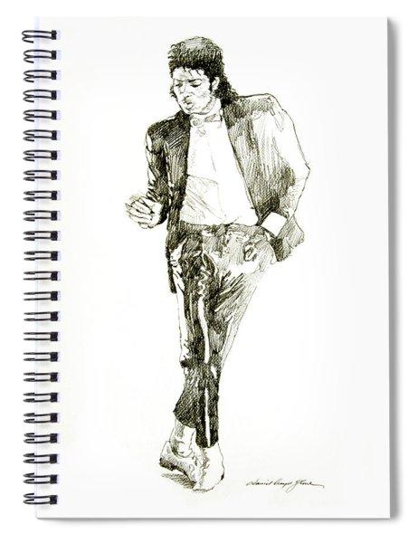 Michael Jackson Billy Jean Spiral Notebook
