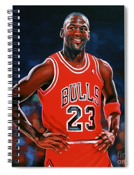 Michael Jordan Spiral Notebook