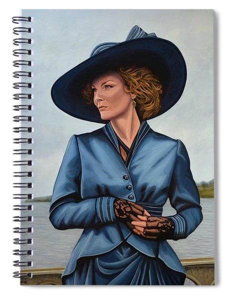 Michelle Pfeiffer Spiral Notebook
