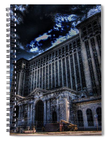 Michigan Central Station Hdr Spiral Notebook