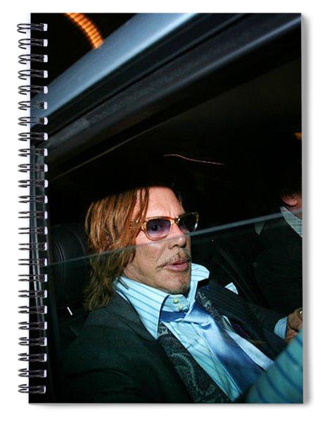 Mickey Rourke  Spiral Notebook