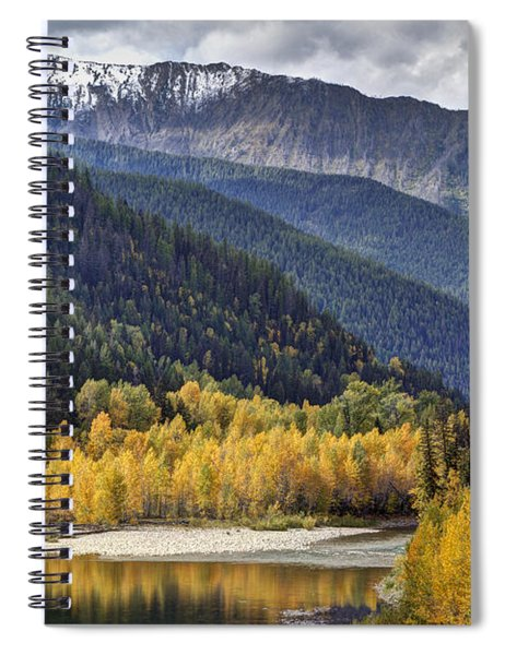 Middle Fork Brillance  Spiral Notebook