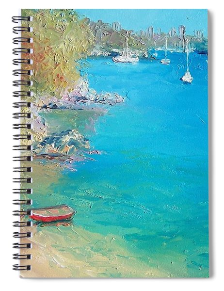 Middle Harbour Sydney Spiral Notebook