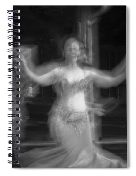 Mideastern Dancing 7 Spiral Notebook