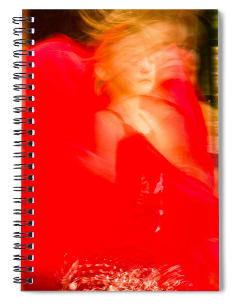 Mideastern Dancing 9 Spiral Notebook