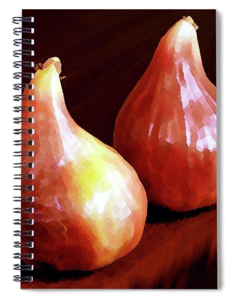 Midnight Figs Spiral Notebook