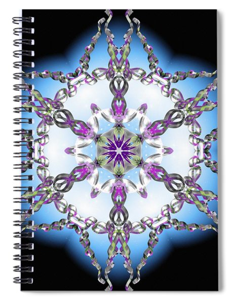 Midnight Galaxy IIi Spiral Notebook