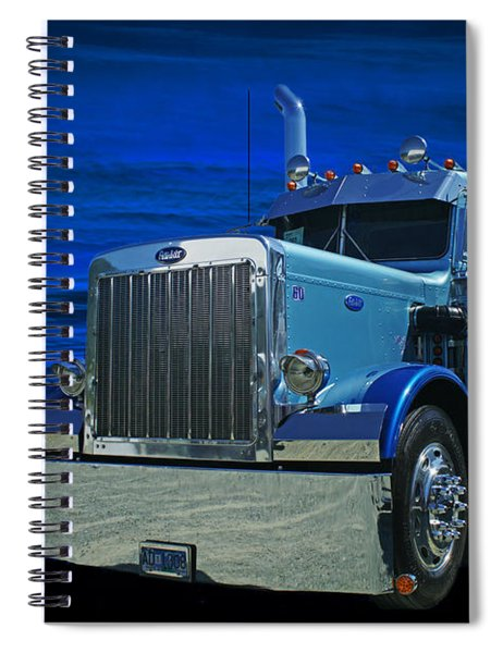 Midnight Peterbilt Spiral Notebook