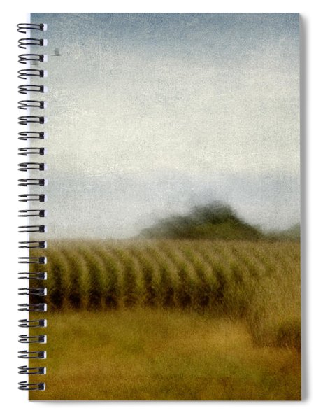 Midwestern Drive-by Corn Fields Spiral Notebook
