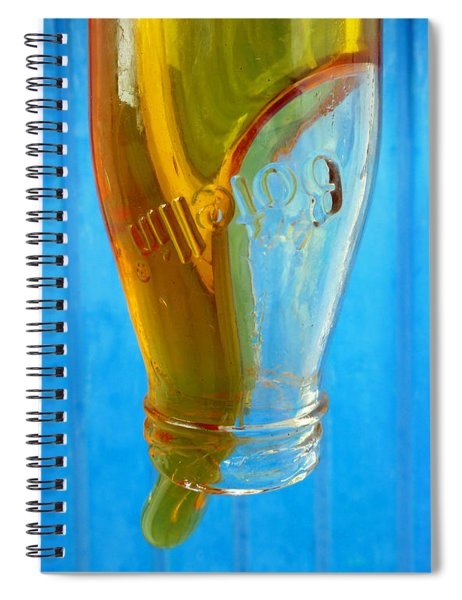 Spiral Notebook featuring the photograph Miel by Skip Hunt