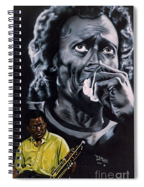Miles Davis Jazz King Spiral Notebook