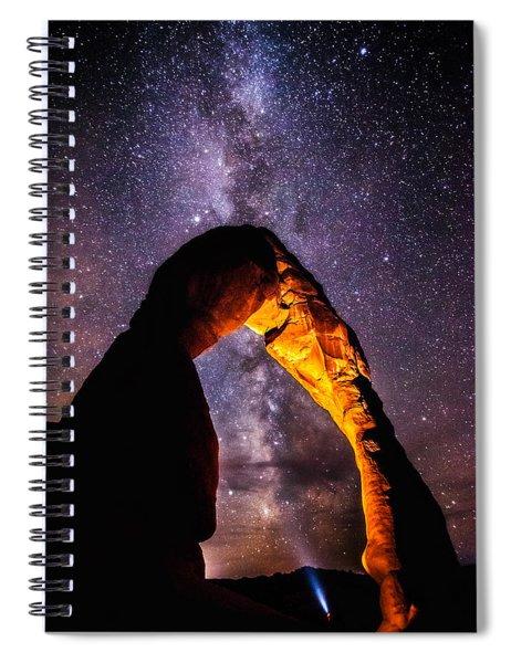 Milky Way Explorer Spiral Notebook