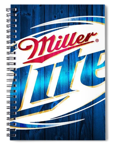 Miller Lite Barn Door Spiral Notebook