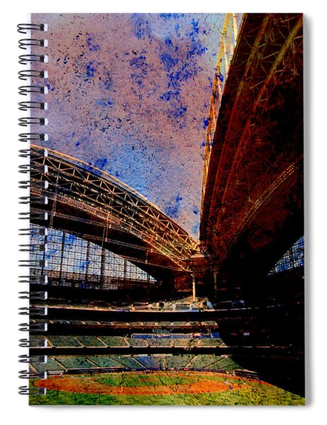 Miller Park 2 W Paint Spiral Notebook