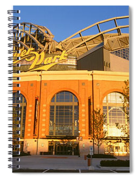 Miller Park Milwaukee Wi Spiral Notebook