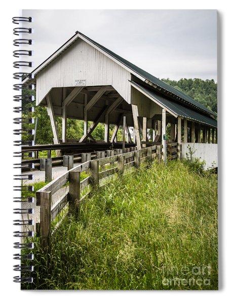 Millers Run Covered Bridge Spiral Notebook
