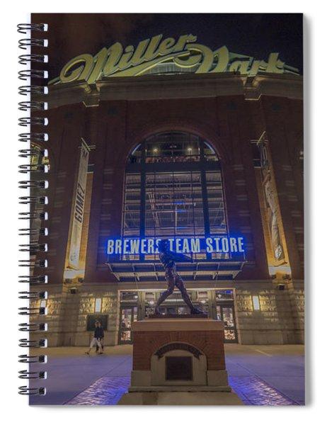 Milwaukee Brewers Miller Park 2 Spiral Notebook